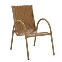 Cadeira Priscila Bege - Art ferro