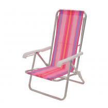 Cadeira Reclinável 4 Posições Rosa Mor - Mor