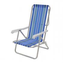 Cadeira Reclinável Alumínio 8 Posições Sortida Mor -