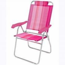 Cadeira Reclinável Boreal Fashion Rosa Mor - Mor