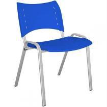 Cadeira Stillus Plástica Azul - Multivisão - Multivisão