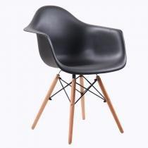 Cadeira Vegas Base Madeira Preta - Goede móveis