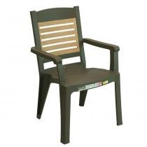 Cadeira Winston Bronze - Marrom - Grosfillex