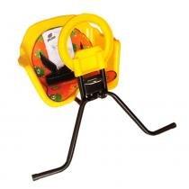 Cadeirinha Bicicleta Pojda Dianteira Luxo Amarelo -