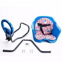 Cadeirinha Bicicleta Pojda Dianteira Luxo Azul -