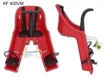 Cadeirinha bike dianteira kalf baby vermelha -