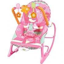 Cadeirinha de Descanso Bouncer Vibratória - Reclinável Baby Style Encanto