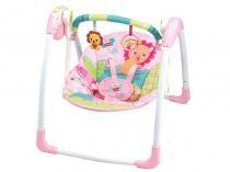 Cadeirinha de Descanso Reclinável com Móbile - Mastela Pink para Crianças até 11kg
