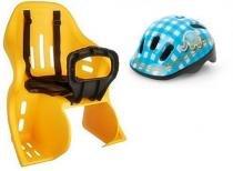 Cadeirinha Infantil Kalf Kid Bike Para Bicicleta Com capacete Baby Polisport - Kalf/polisport