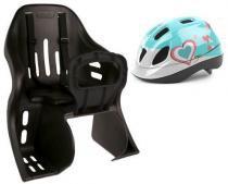 Cadeirinha Infantil Kalf Kid com capacete Júnior Polisport -