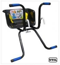 Cadeirinha Infantil para Bicicleta Stilo Básica Preta - Util