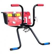 Cadeirinha Infantil para Bicicleta Stilo Luxo Vermelha - Util