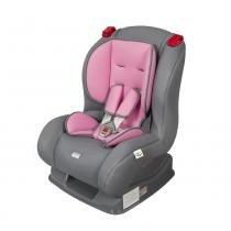 Cadeirinha para Carro Atlantis 04100.25 Cinza/Rosa - Tutti Baby - Tutti Baby