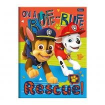 e4b8d8ae7b Caderno 1 4 Brochura Patrulha Canina - On a Ruff-Ruff - 96 Folhas