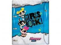 Caderno Argolado 10 Matérias DAC - Meninas Super Poderosas 192 Folhas