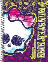 Caderno Capa Dura Universitário Monster High 10 Matérias - Tilibra Tilibra