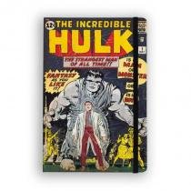 Caderno de Notas The Incredible Hulk 01 Marvel - Studiogeek - Studio geek