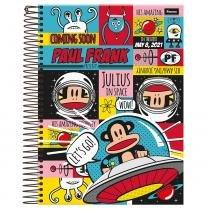 Caderno Paul Frank - Space - 10 Matérias - Foroni -