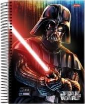 Caderno Univ 1x1 96f CD 58185 Star Wars Jandaia - 1