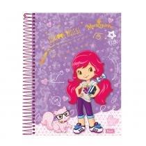 Caderno Universitário Moranguinho 96fls Capa School Rules - Foroni
