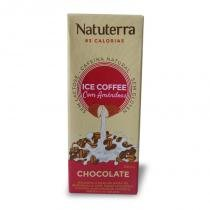 Café Gelado Chocolate com Leite de Amêndoas Natuterra 200ml -