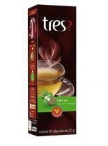 Café Tres 3 Corações Chá de CAPIM CIDREIRA Caixa com 10 Cápsulas - 3 coraçoes