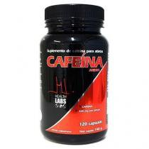 Cafeína Anidra - 120 Cápsulas - Health Labs -
