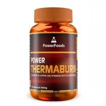 Cafeína Power Thermaburn - 120 cápsulas - PowerFoods - PowerFoods