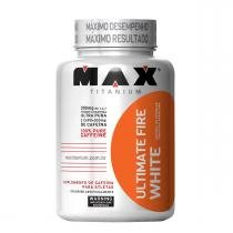 Cafeína ULTIMATE FIRE WHITE - Max Titanium - 120 Caps -
