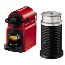 CAFETE INISSIA + AEROCCINO NESPRESSO VERMELHA 220V AUTOMATICA - A3RC40-BR3-REN - Nespresso