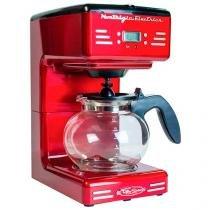 Cafeteira Elétrica Nostalgia Retrô RCOF-120 - 12 Xícaras Vermelha