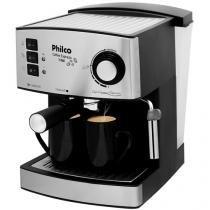 Cafeteira Elétrica Philco Coffee Express - Prata e Cinza 2 Xícaras