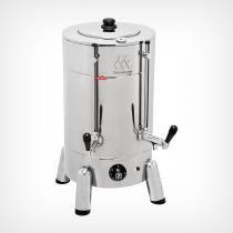 Cafeteira elétrica profissional em aço inox tradicional 6L Marchesoni -