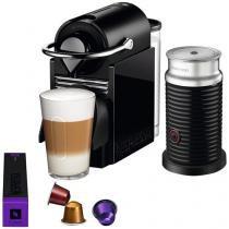 Cafeteira Expresso 19 Bar Nespresso - Combo Pixie Clips Black e Lemon