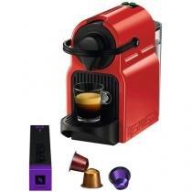 Cafeteira Expresso 19 Bar Nespresso Inissia - Vermelha Rubi