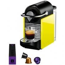 Cafeteira Expresso 19 Bar Nespresso Pixie Clips - Black e Lemon