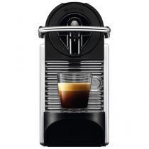 Cafeteira Expresso de Cápsula Nespresso Pixie D60 - Prata e Preta 19 Bar