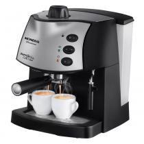 Cafeteira Expresso Mondial Coffee Cream C08 Preta 15 Bar 127v -