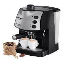Cafeteira Expresso Mondial Coffee Cream Premium C-08 Preto/Prata - 15 Bar - 110V -