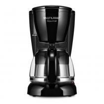 Cafeteira gourmet eletrica 30 xicaras preta 220v multilaser be04 - Multilaser