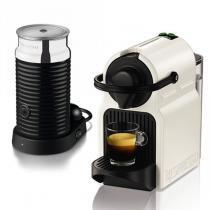 Cafeteira inissia + aeroccino nespresso branca 220v automática - a3rc40-br3-whn -