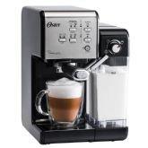 Cafeteira Oster Primalatte Evolution, Prata, BVSTEM6701SS, 600ml, 10 Cafés, 19 bars -