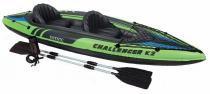 Caiaque Inflável 160kg K2 Challenger Intex Remos 68306 - Intex