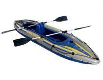 Caiaque Inflável 160kg K2 Challenger Intex Remos Azul - Intex