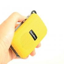Caixa Acústica Bluetooth, 3w, Portátil, C/ Alça Ideal P/bike - Universal