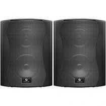 Caixa acústica Som Ambiente PS4 Plus Preta 40w - Frahm - o Par -