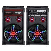 Caixa Acústica TRC USB Bluetooth 300W TRC 362 -