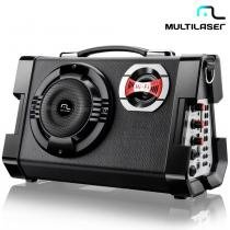 Caixa Amplificada 80W Mp3 Active Sound Bivolt SP191 - Multilaser - Multilaser