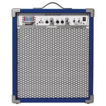 Caixa amplificada frahm lc400 bt azul 31223 - Frahm