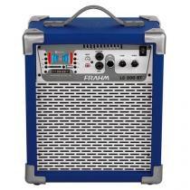 Caixa amplificada frahm mf600 app 100 rms -